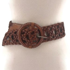 Woven Leather Belt by James Halbert